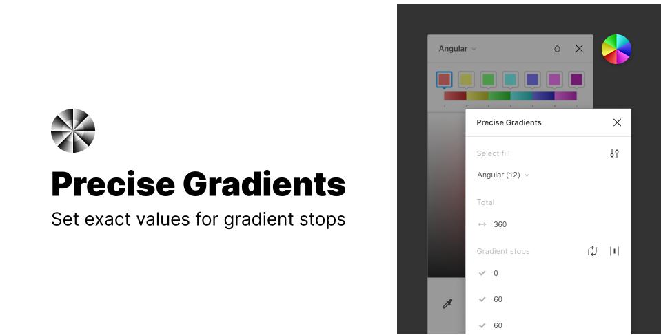 Плагин Precise Gradients для Figma