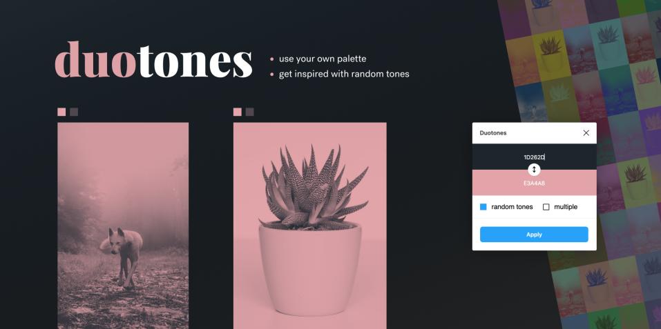 Плагин Duotones для Figma