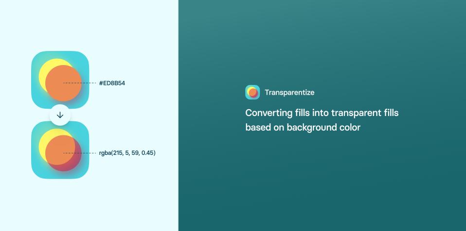 Плагин Transparentize для Figma