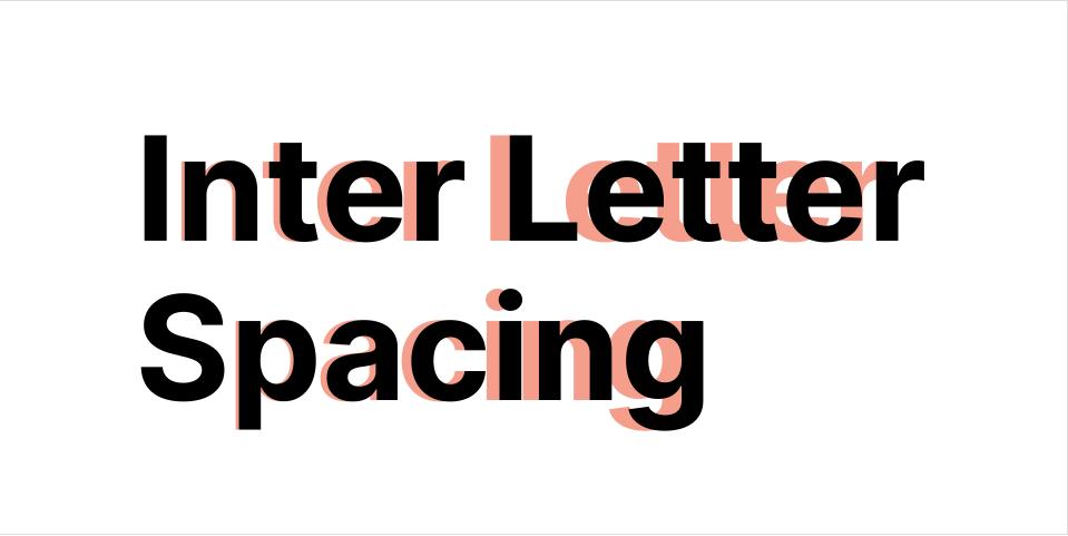 Плагин Inter Letter Spacing для Figma