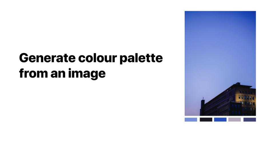 Плагин Photo to Palette для Figma