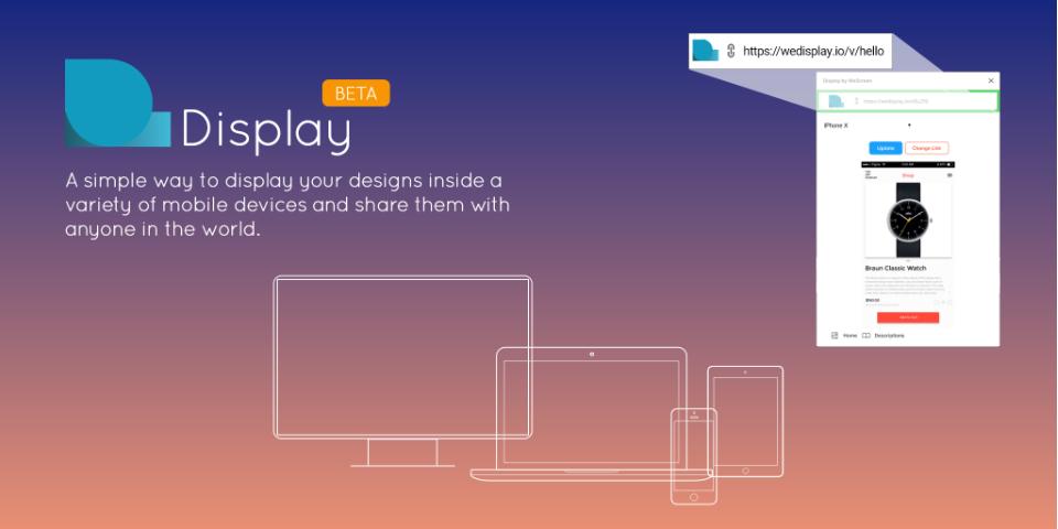 Плагин Display by WeScreen для Figma