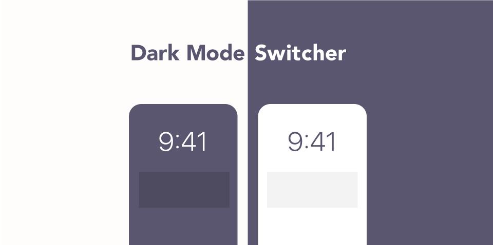 Плагин Dark Mode Switcher для Figma