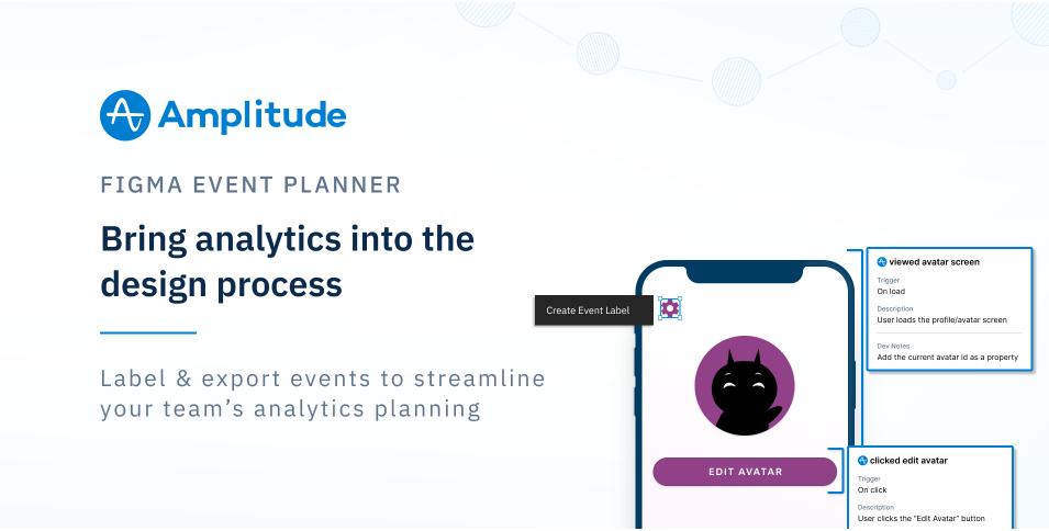 Плагин Amplitude Event Planner для Figma