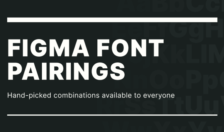 Figma Font Pairings