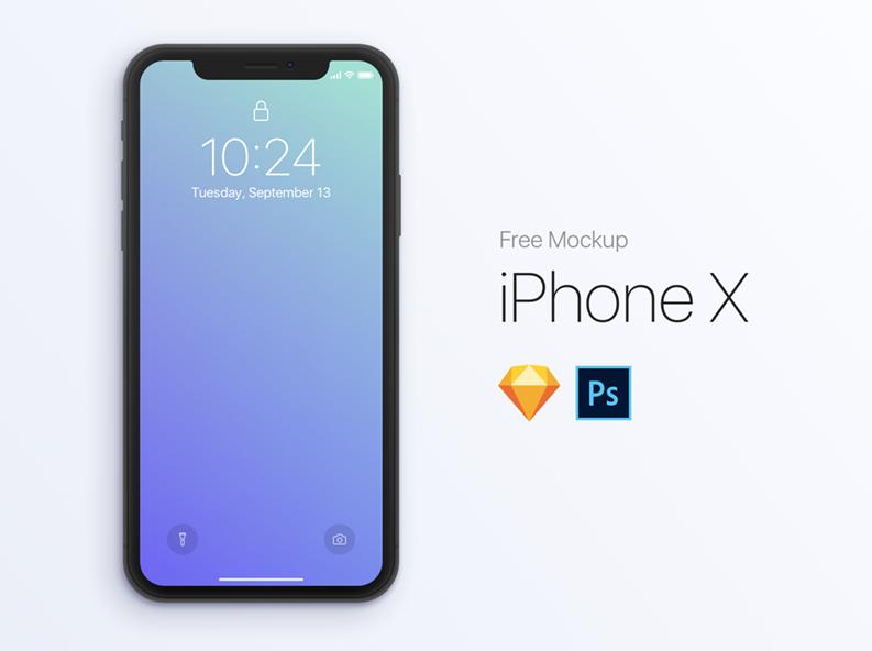 Мокап iPhone X для Figma
