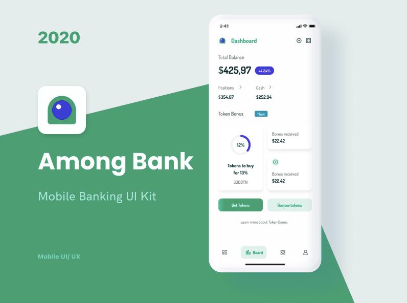Among Bank - Mobile Banking UI Kit