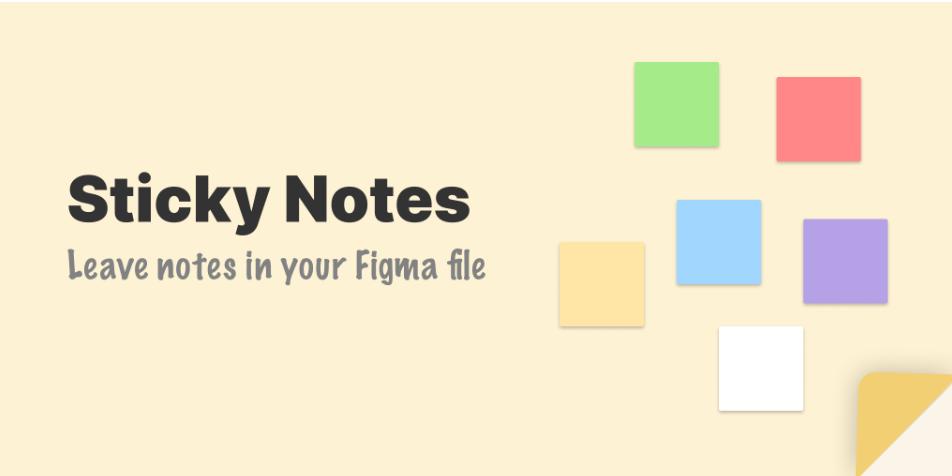 Плагин Sticky Notes для Figma