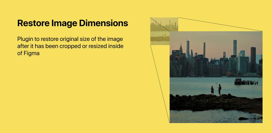 Плагин Restore Image Dimensions для Figma