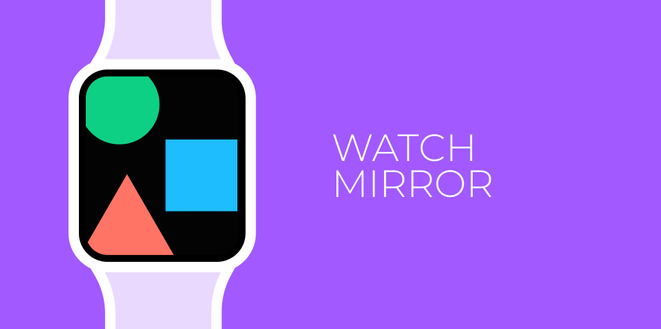 Плагин Watch Mirror для Figma