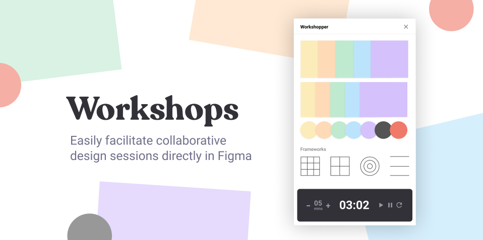 Плагин Workshops для Figma