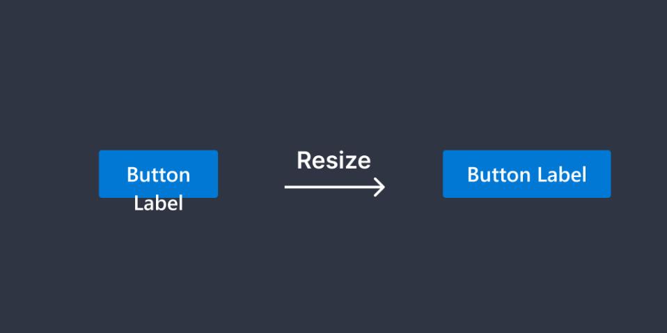 Плагин Button Resizer для Figma