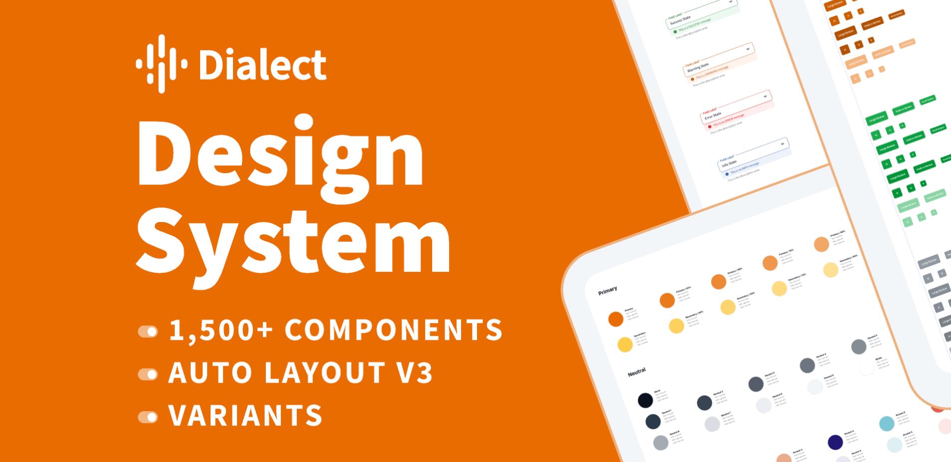 Дизайн-система Dialect UI Kit