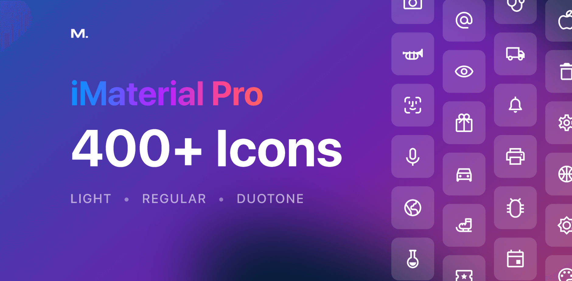 iMaterial Pro Icons pack