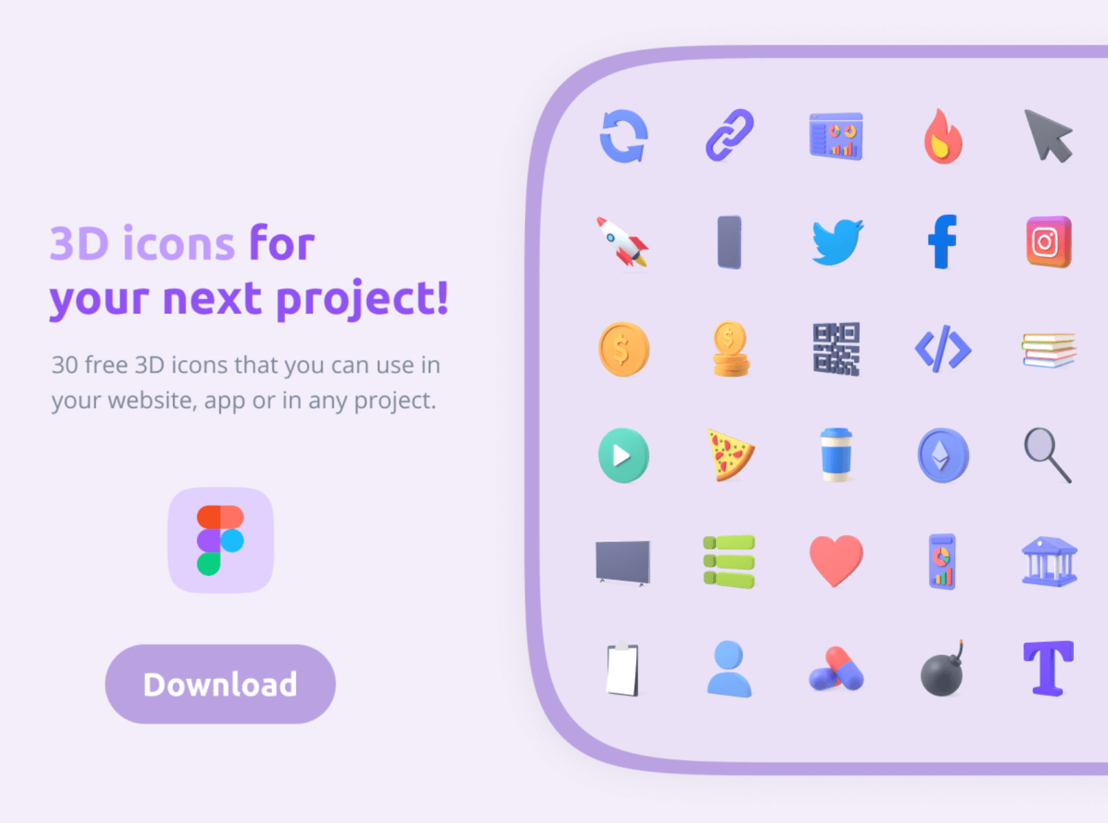 3D Icon Pack by Pixicon