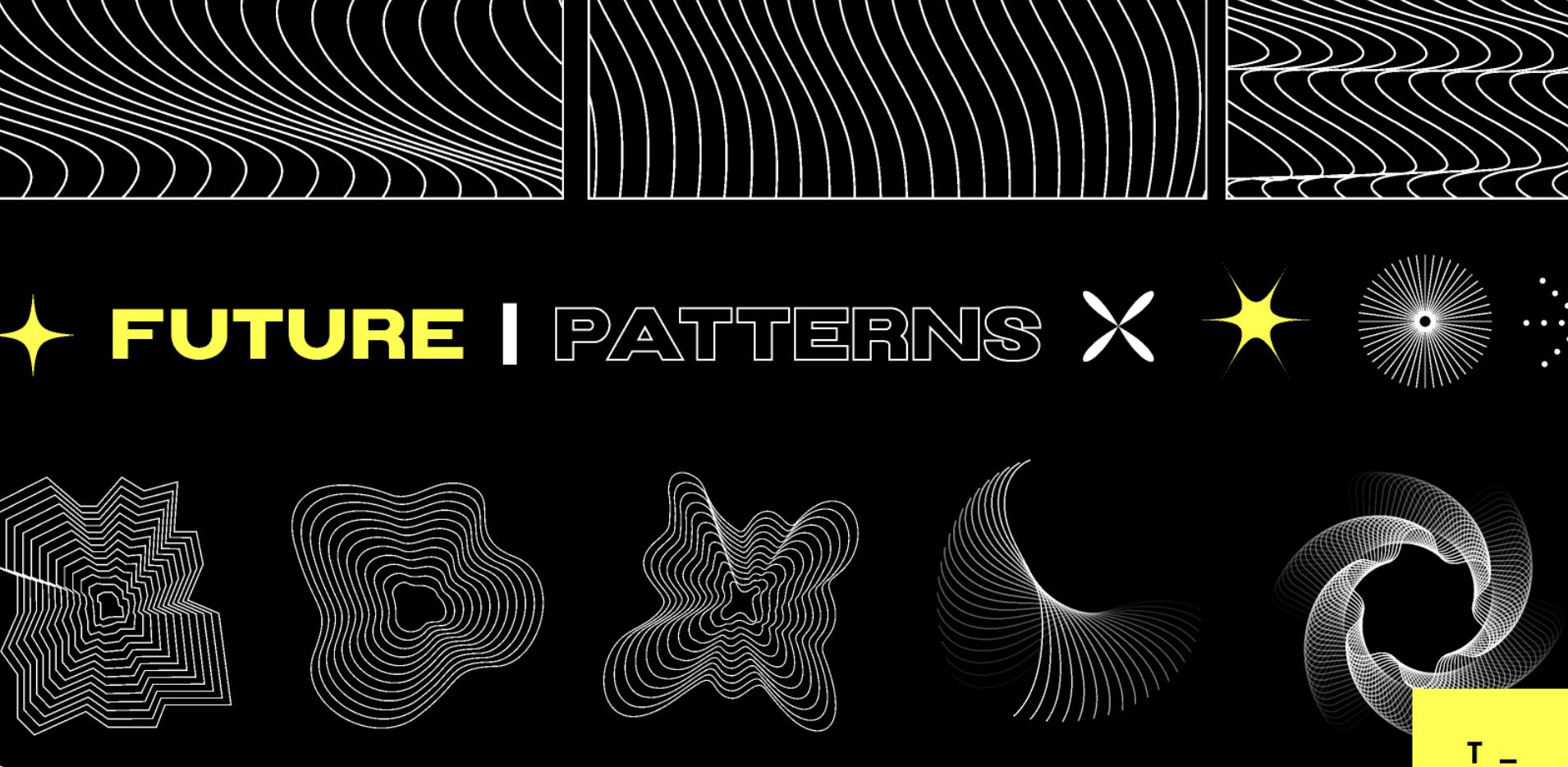 Набор Future Patterns для Figma