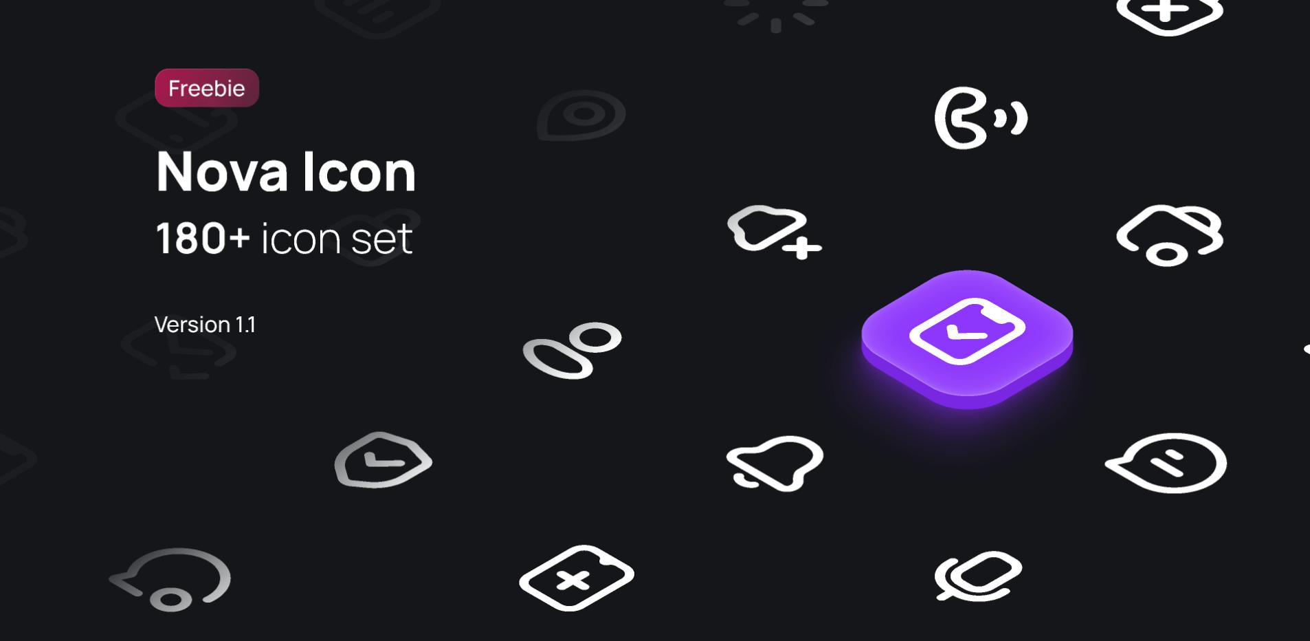 Набор иконок Nova Icon